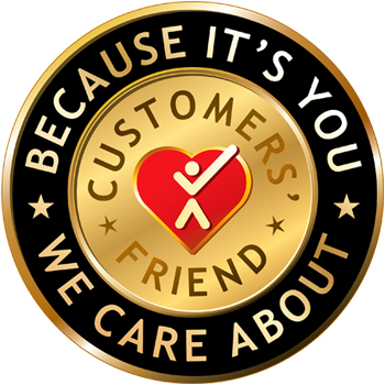 Customer's Friend logo